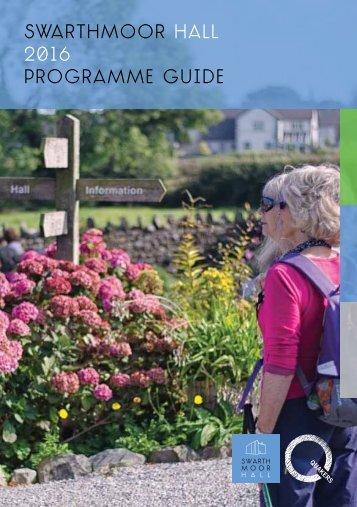 Swarthmoor hall 2016 Programme guide
