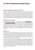 Jahresbericht 2015 Radioschule klipp+klang - Page 6