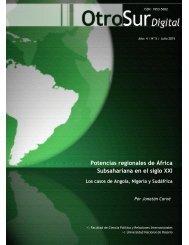 Potencias regionales de África Subsahariana en el siglo XXI