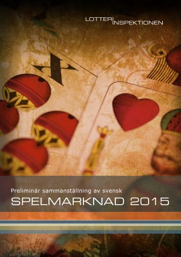 SPELMARKNAD 2015