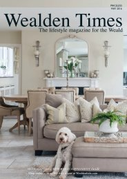 Wealden Times | WT171 | May 2016 | Restoration & New Build supplement inside