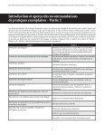 Recommandations de pratiques exemplaires - Page 4