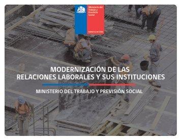 MODERNIZACIÓN DE LAS RELACIONES LABORALES Y SUS INSTITUCIONES