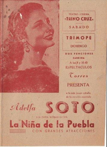 Adelfa Soto y La Niña de la Puebla - Herencia del Arte 00