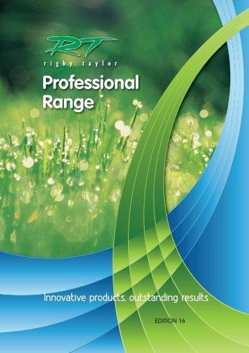 Rigby Taylor Professional Range 2016