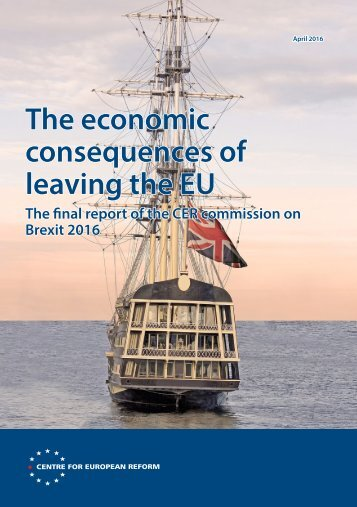 The economic consequences of leaving the EU