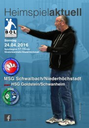 Heimspiel aktuell 13-MSG2016