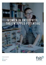 WOMEN IN ENTERPRISE THE UNTAPPED POTENTIAL
