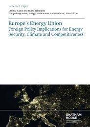 Europe's Energy Union