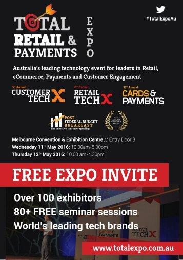FREE EXPO INVITE
