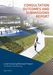 CONSULTATION OUTCOMES AND SUBMISSIONS REPORT