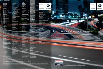 BMW EfficientDynamics. - G&CO