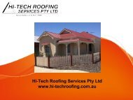 Adelaide's Best Roofing and Gutter Replacement Services