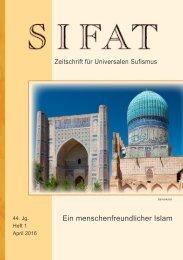 SIFAT - Zeitschrift für Universalen Sufismus - 2016 Heft 1 - April (Leseprobe)