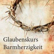 Manuskript Glaubenskurs-Barmherzigkeit