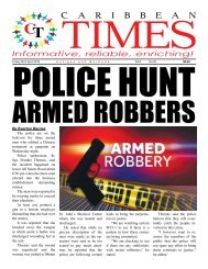 Caribbean Times 95th issue - Friday 22nd April 2016