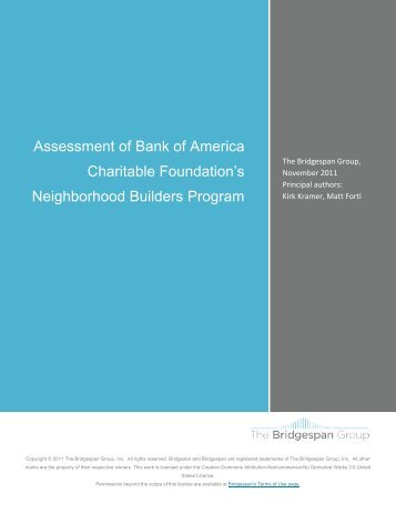 View Report - About Bank of America