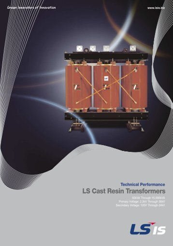 LS Cast Resin Transformers - Power Quality and Drives