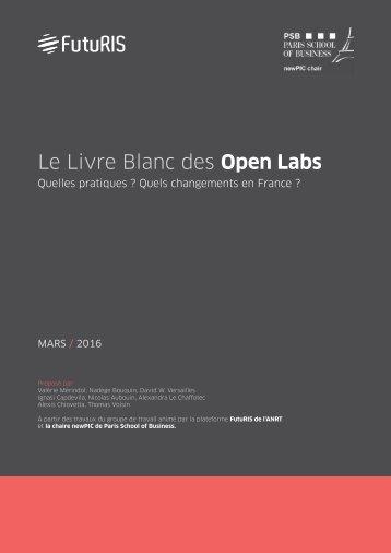 Le Livre Blanc des Open Labs