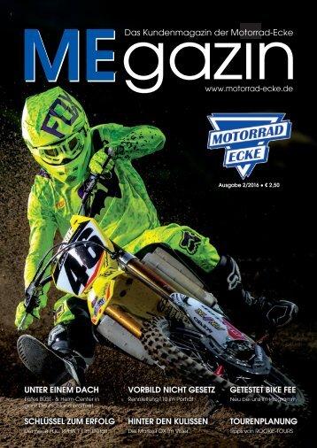 Das Kundenmagazin der Motorrad-Ecke Ausgabe 2/2016