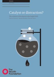 Catalyst or distraction?