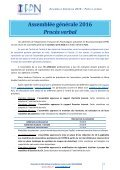 PROCES VERBAL - Page 3
