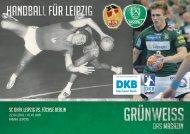 GRÜNWEISS – das Magazin der DHfK-Handballer