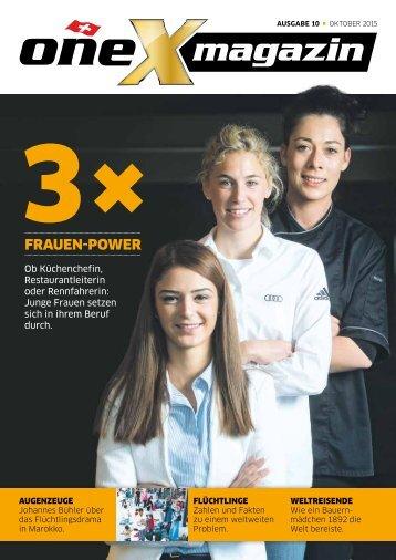 oneX magazin 10.2015