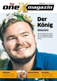 oneX magazin 09.2015