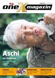 oneX magazin 08.2015