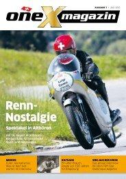 oneX magazin 07.2015