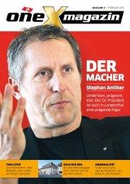 oneX magazin 02.2015