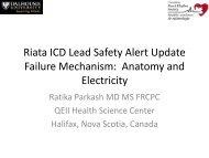 Riata ICD Lead Safety Alert Update Failure Mechanism: Anatomy ...