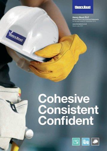 Cohesive Consistent Confident
