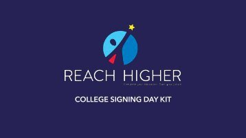 COLLEGE SIGNING DAY KIT