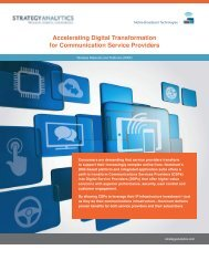 Accelerating Digital Transformation for Communication Service Providers
