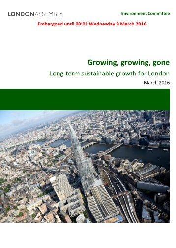 Growing growing gone