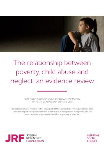 relationship between unemployment and child abuse