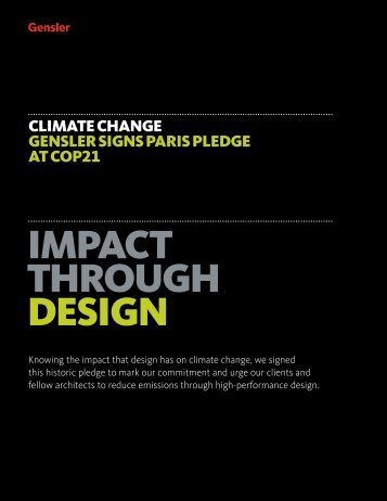 IMPACT THROUGH DESIGN