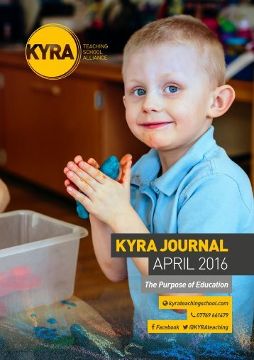 KYRA JOURNAL APRIL 2016