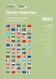 Climate Regulation - Bichara, Barata & Costa Advogados