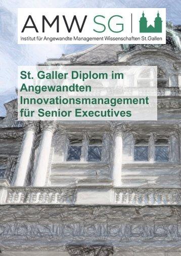 Innovationsmanagement für Senior Executives