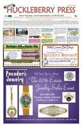 Huckleberry Press 042116