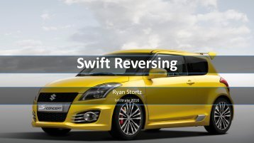 Swift Reversing