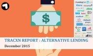 TRACXN REPORT  ALTERNATIVE LENDING