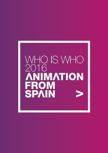 Discover ANIMATION FROM SPAIN