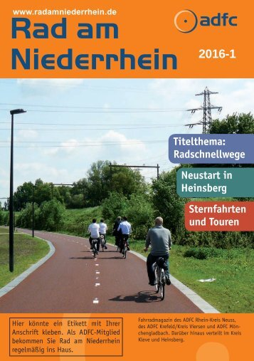 Rad am Niederrhein