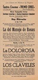 Gran compañia lirica Esteban Astarloa - La del manojo de rosas