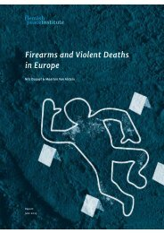 Firearms and Violent Deaths in Europe