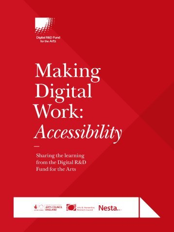 Making Digital Work Accessibility